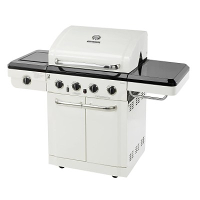 Char-Broil Red Infrared Grill With Outdoor Oven Model